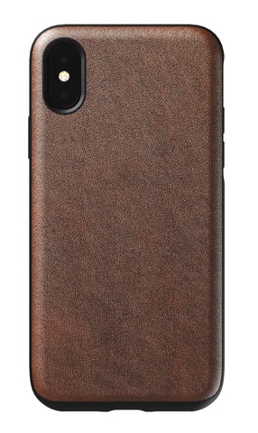 Nomad  NM21FR0000 Rugged Leather Case iPhone XS/X Rustic Brown