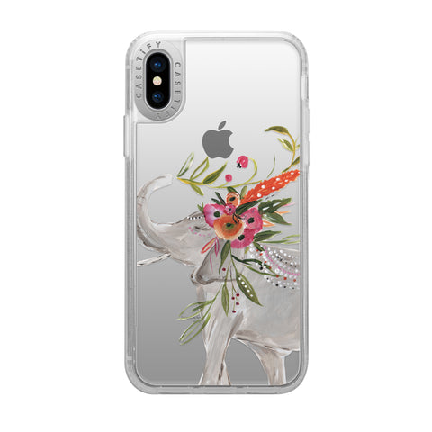 Casetify  CTF41163066311800 Grip Cases iPhone XS/X Elephant