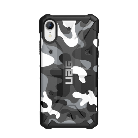 UAG  111097114060 Pathfinder iPhone XR Arctic Camo (White)