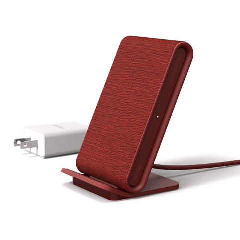 iOttie  CHWRIO104RD iON Wireless Fast Charging Stand Qi 10W Red