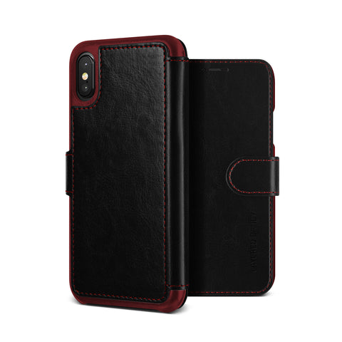 Vrs Design  VRSIP8LDDBK Layered Dandy iPhone XS/X Black