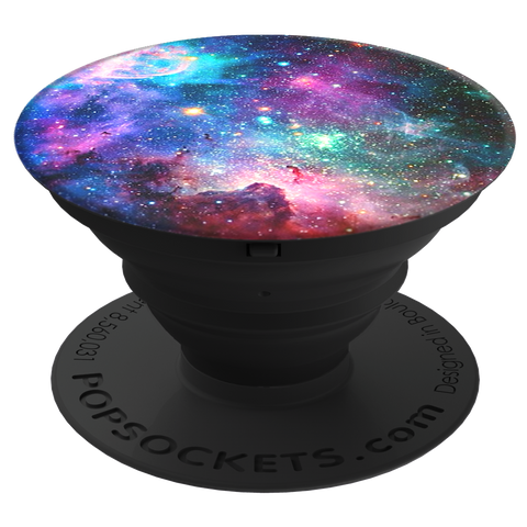 PopSockets  909106 Grip Stand Blue Nebula