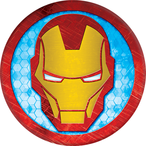 PopSockets  101778 Grip Stand Iron Man Icon (English Only Packaging)
