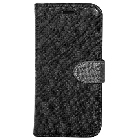 Blu Element  B21IXBY 2 in 1 Folio iPhone XS/X Black/Grey