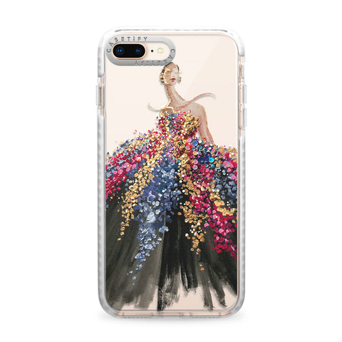 Casetify  CTF44213596110700 Impact Case iPhone 8+/7+ Blooming Gown