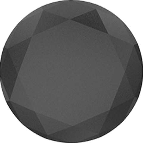 PopSockets  909452 Grip Stand Black Metallic Diamond