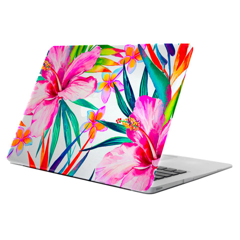 Uncommon  C2001OQ Clear Deflector MacBook 12 inch Hibiscus