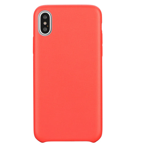 Blu Element  BBMI8G Velvet Touch Case iPhone XS/X Red