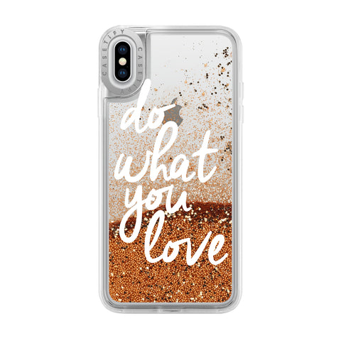 Casetify  CTF26256726512000 Glitter  iPhone XS Max Do What You Love