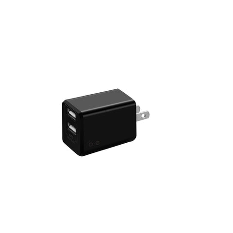 Blu Element  BTLBK Wall Charger Dual USB 3.4A No Cable Black