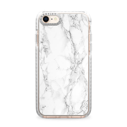 Casetify  CTF39545416110700 Impact Case iPhone 8+/7+ White Marble