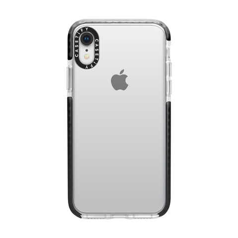 Casetify  CTF43753347011900 X Essential Impact iPhone XR Clear/Black