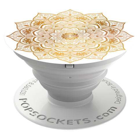 PopSockets  909466 Grip Stand Golden Silence