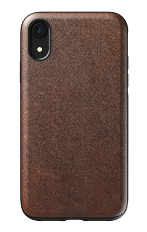 Nomad  NM21QR0000 Rugged Leather Case iPhone XR Rustic Brown