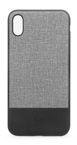 Blu Element  BECCI61GD Chic Collection Case iPhone XR Gray/Black