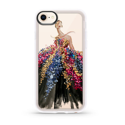 Casetify  CTF4421359290604 Grip Case iPhone 8/7/6S/6 Blooming Gown