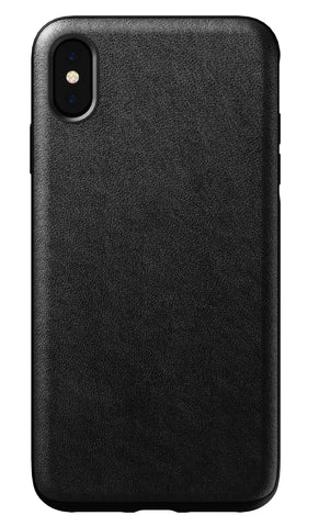 Nomad  NM21T10R00 Rugged Leather Case iPhone XS Max Black