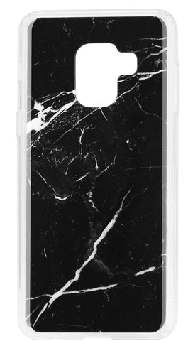 Blu Element  MBMA8 Mist Galaxy A8 2018 Black Marble