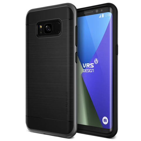 Vrs Design  S8HPSDS High Pro Shield Galaxy S8 Dark Silver