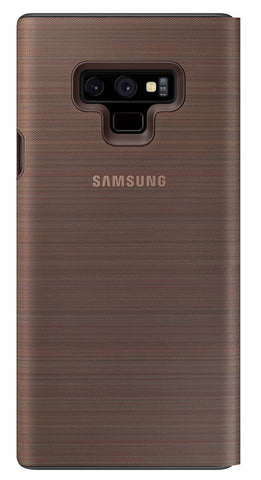Samsung  EFNN960PAEGCA LED View Cover Galaxy Note9 Brown