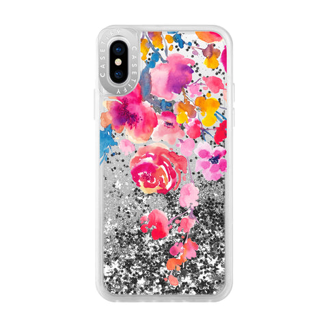 Casetify  CTF38655336511801 Glitter iPhone XS/X Confetti Watercolor