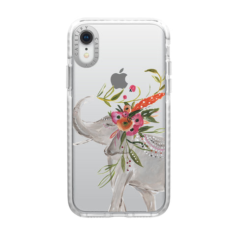Casetify  CTF41163066111900 Impact Case iPhone XR Boho Elephant
