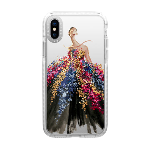 Casetify  CTF44213596111800 Impact Case iPhone XS/X Blooming Gown