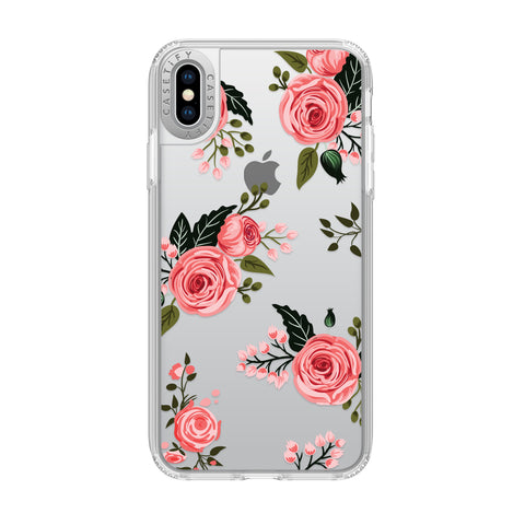 Casetify  CTF41395906312000 Grip Cases iPhone XS Max Pink Floral Roses