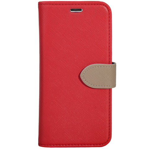 Blu Element  B21IXRD 2 in 1 Folio iPhone XS/X Red/Butterum
