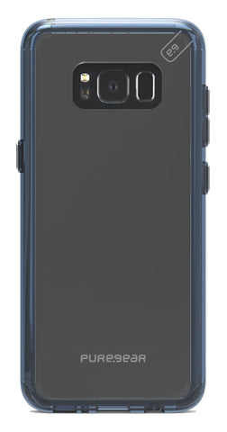 Puregear  61755PG Slim Shell Pro Galaxy S8 Clear/Blue