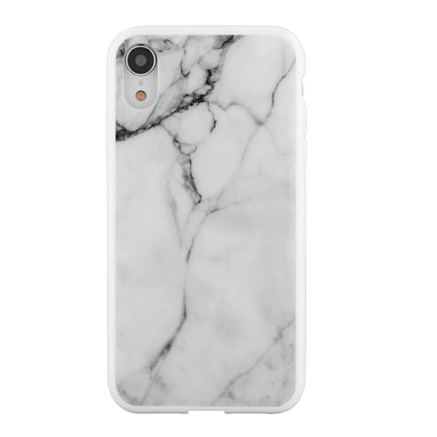 Blu Element  MWMI61 Mist iPhone XR White Marble