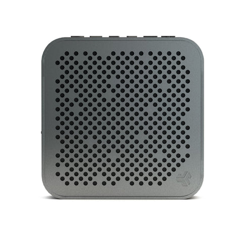 JLab Audio  SBMINIRGM4 Crasher Mini Splashproof Bluetooth Speaker Grey