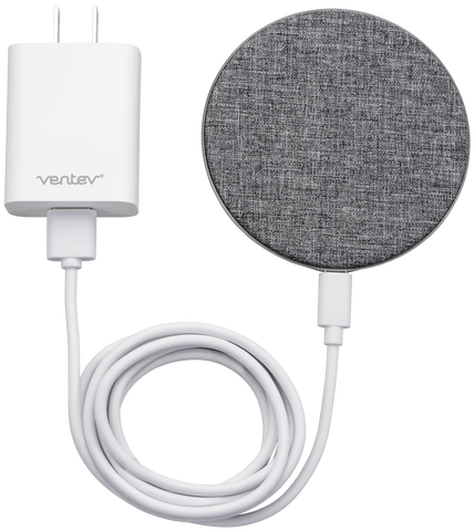 Ventev  236940 Fast Charging Wireless Chargepad Qi 10W Grey