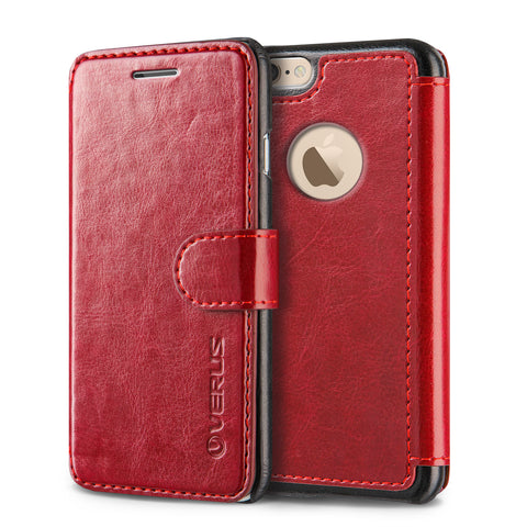Vrs Design  VRIP6SLDDRD Layered Dandy iPhone 6S/6 Red