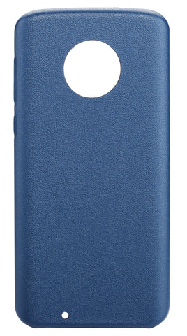 Blu Element  BBMMOG6NB Velvet Touch Case Moto G6 Navy Blue