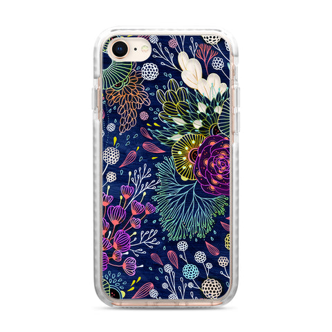 Casetify  CTF34042336110600 Impact Case iPhone 8/7 Dark Floral