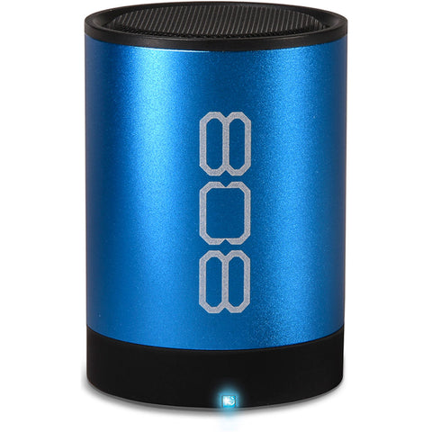 808 Audio  SP881BL CANZ Bluetooth Speaker Blue