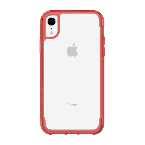 Griffin  GIP002CTM Survivor Clear iPhone XR Clear/Tomato (Red)