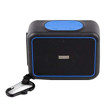 iHome  iBT35BLC iBT35 Waterproof Bluetooth Speaker Black/Blue