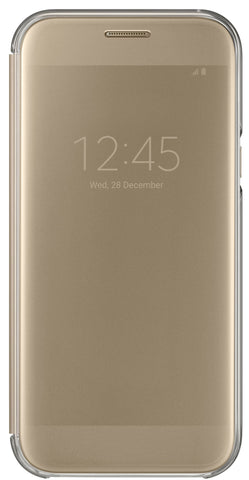 Samsung  EFZA520CFEGCA Clear View Cover Galaxy A5 2017 Gold