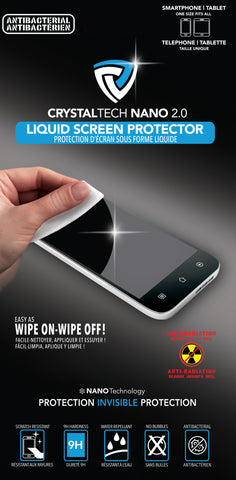 Crystaltech  CTNANOTECH1 Crystaltech Nano 2.0 Liquid Screen Protection