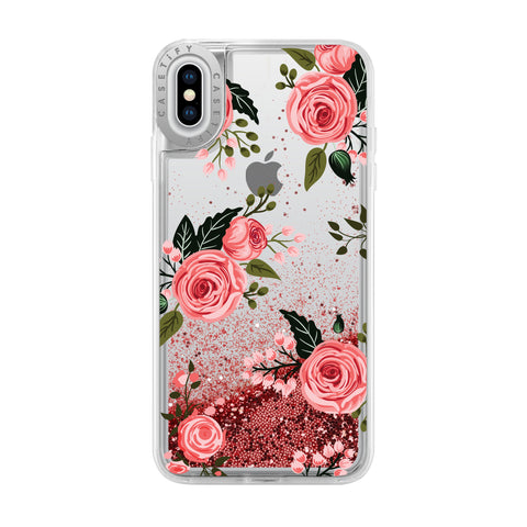 Casetify  CTF41395906512002 Glitter Case iPhone XS Max Pink Roses