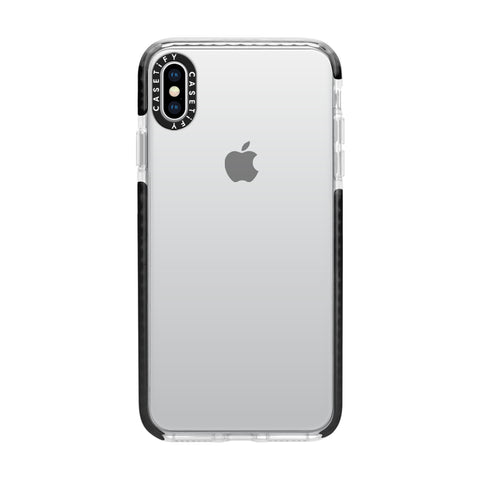Casetify  CTF43753347012000 X Essential Impact iPhone XS Max Clear/Blk