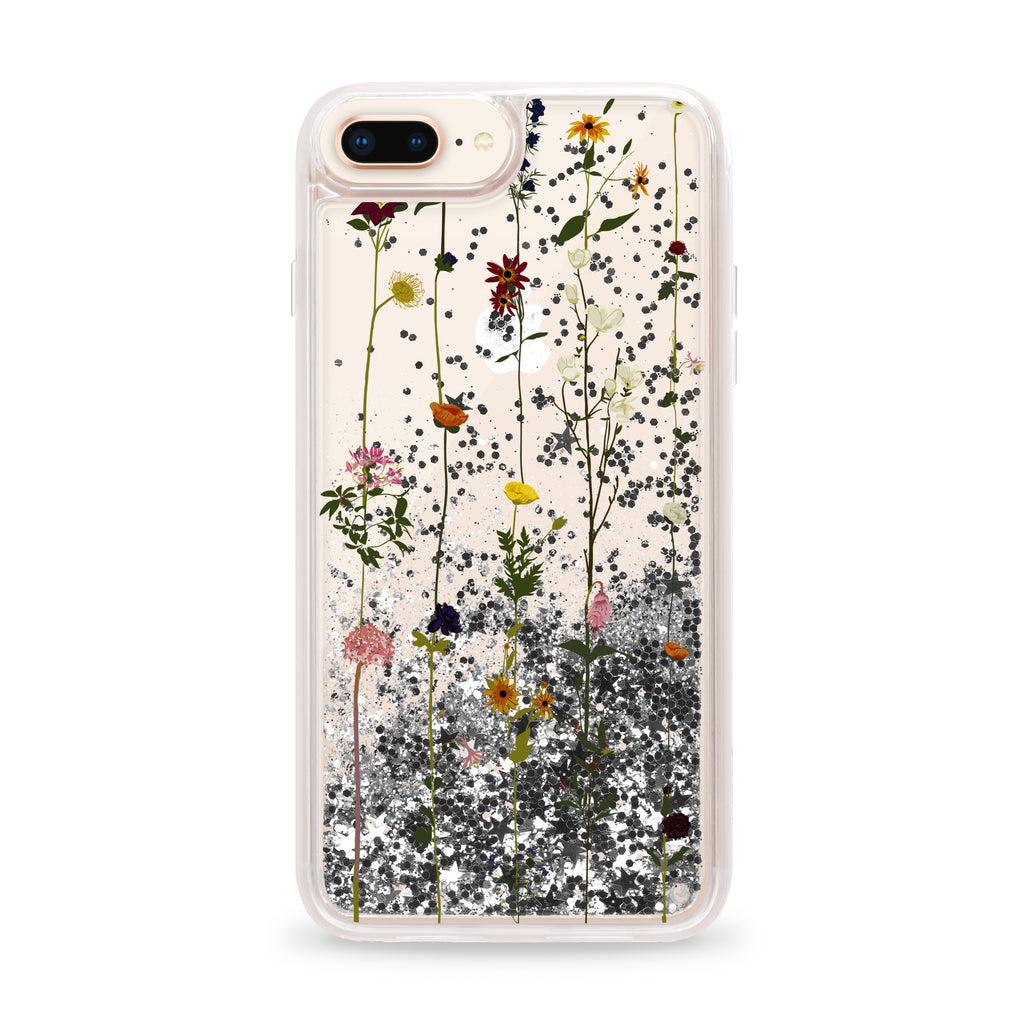 more photos 436a2 3b898 Casetify CTF2913728530701 Glitter Case iPhone 8+/7+/6S+/6+ Floral