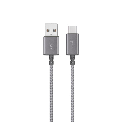 Moshi  99MO084211 Integra Charge/Sync USB-C Cable 5ft Grey