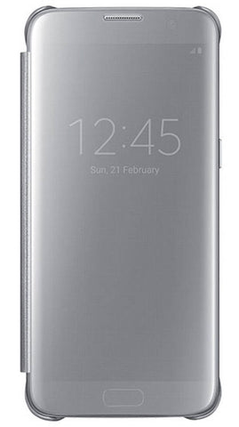 Samsung  EFZG955CSEGCA Clear View Stand Cover Galaxy S8+ Silver