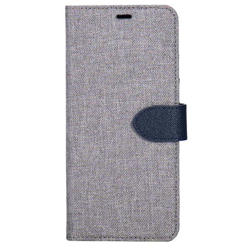 Blu Element  B21IXGR 2 in 1 Folio iPhone XS/X Grey/Blue