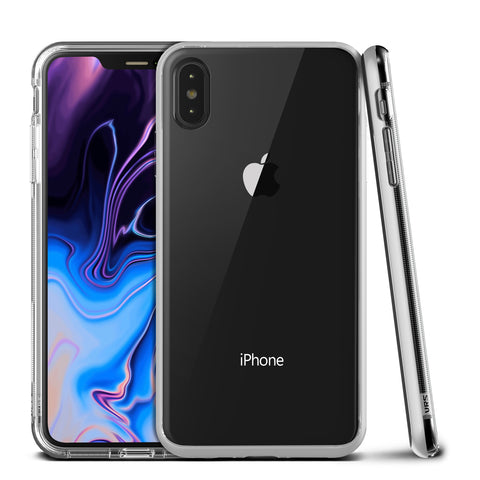 Vrs Design  VRSIPXPCRBSTS Crystal Bumper iPhone XS Max Steel Silver