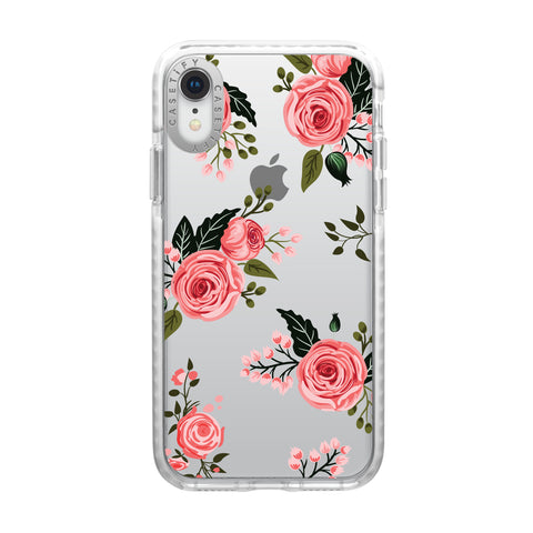 Casetify  CTF41395906111900 Impact Case iPhone XR Pink Floral Roses