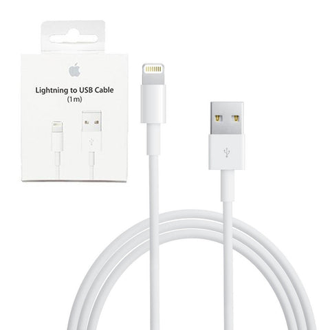 Cable Original Iphone 6 7 8 X Apple Lightning Cable 1mts